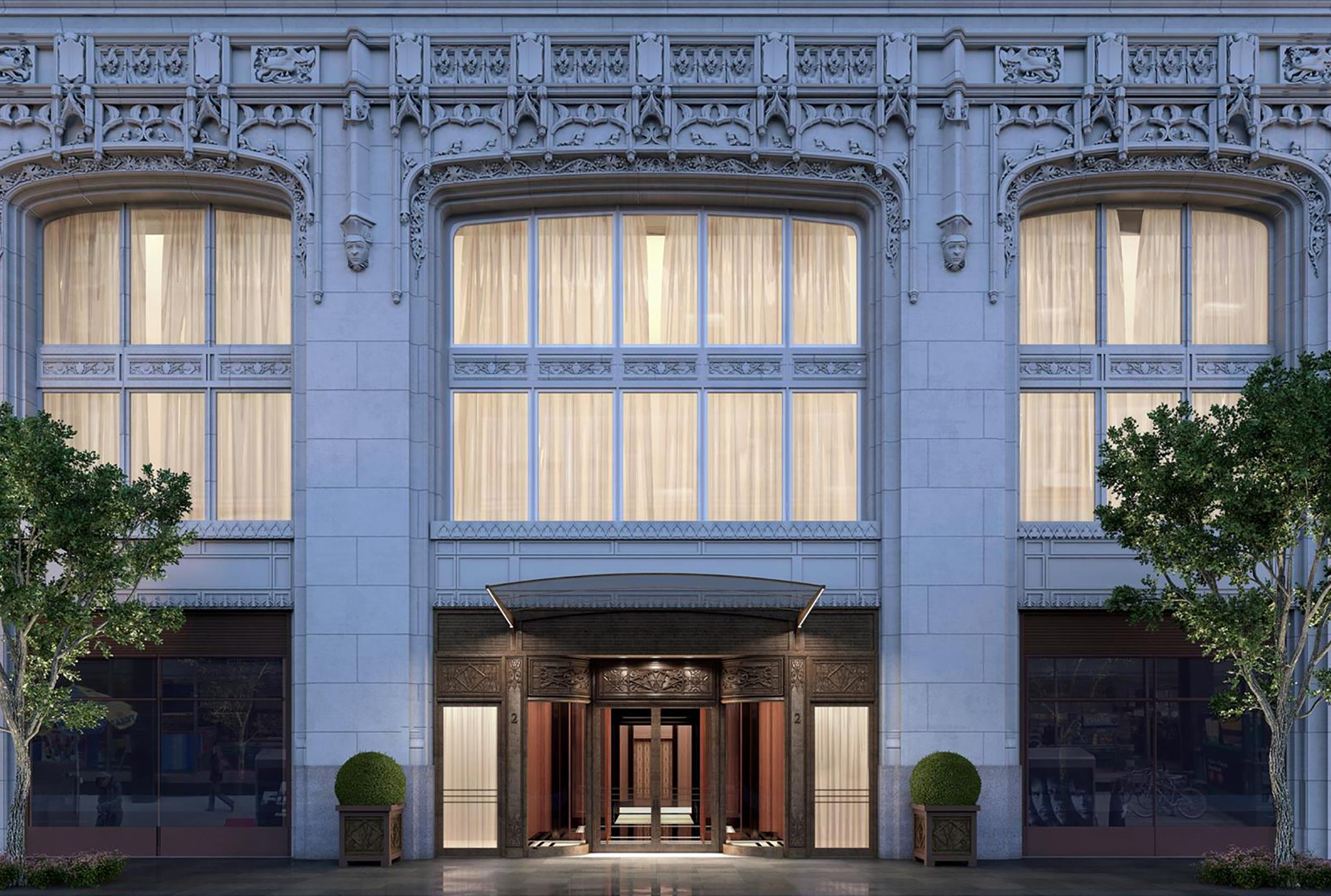 NYCCondosforsale_TheWoolworthTowerResidences_Exterior_Building_Architecture_Entrance