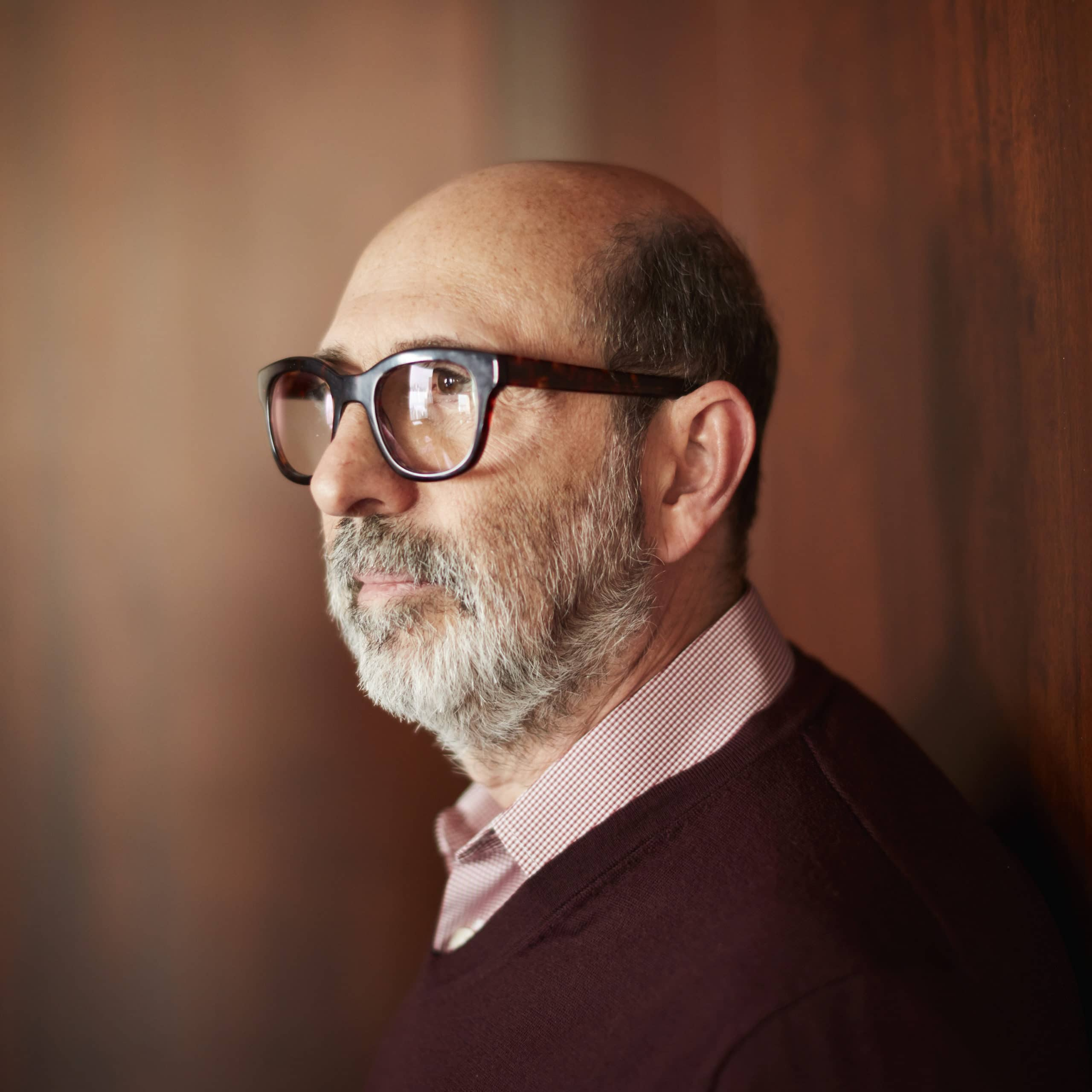Profile picture of Isay Weinfeld taken by Bob Wolfenson.