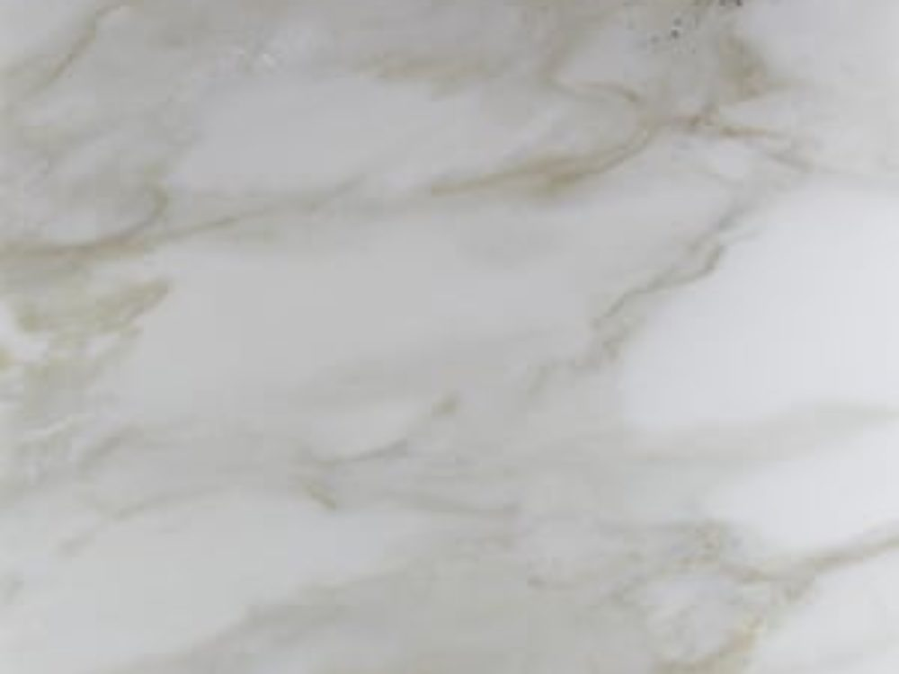 Close up of Calacatta Calvani Honed Marble that is used in the kitchens of The Hayworth luxury condos in New York City.