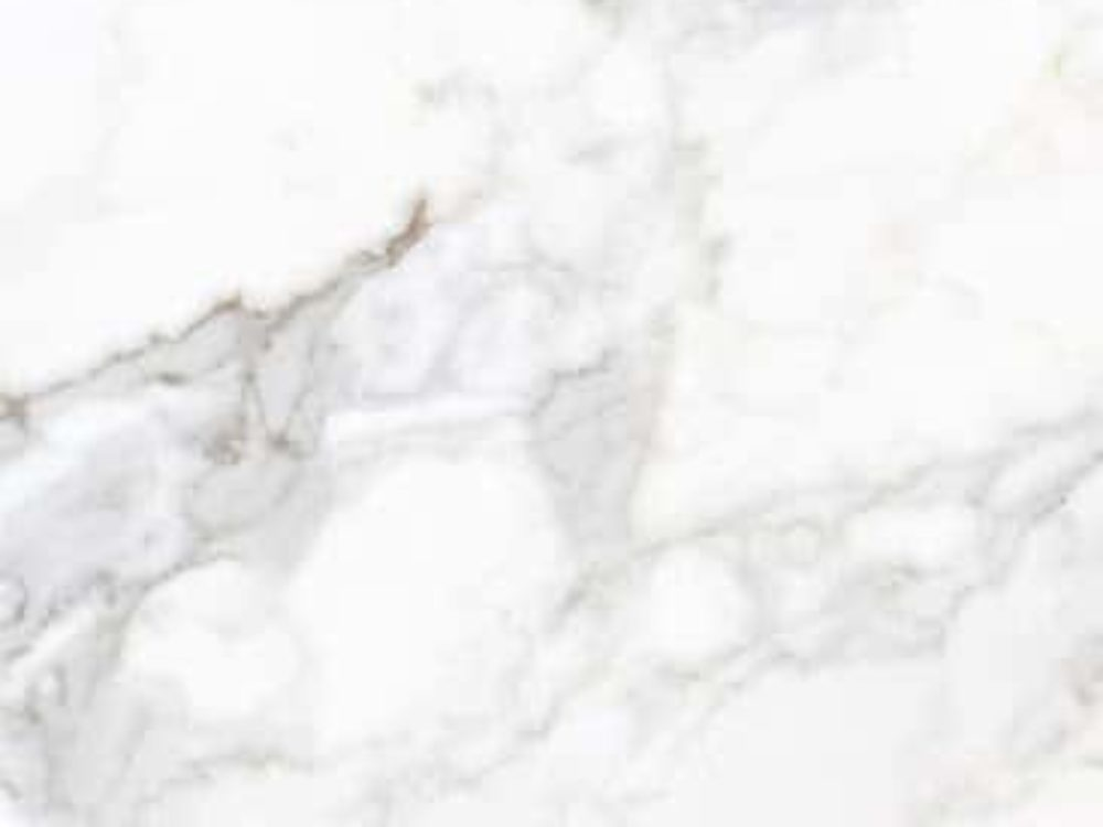 Close up of Calacatta Vision marble used in the powder rooms, floors, walls and vanities at The Hayworth condos in NYC.